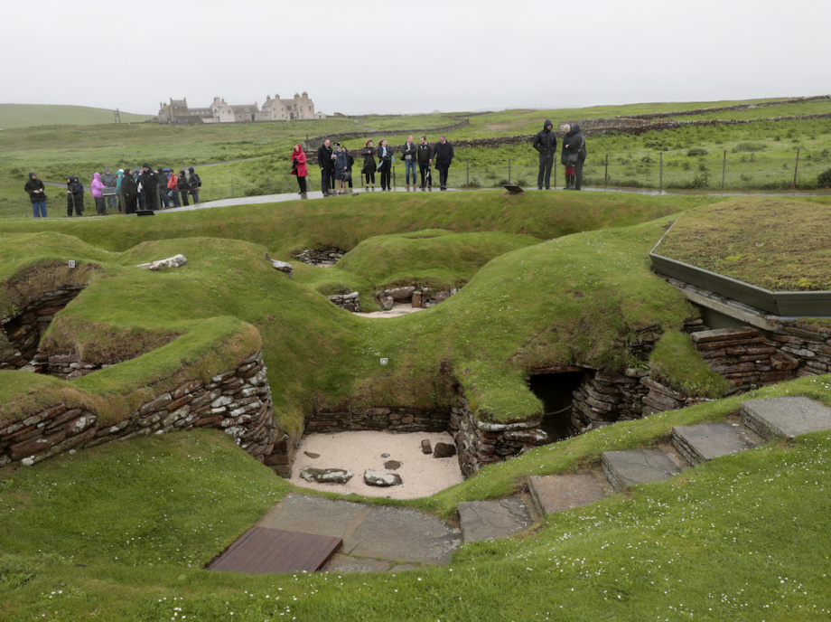 Skara Brae is regarded as one of the most important prehistoric finds in Europe. Photo: Lise Åserud, NTB scanpix